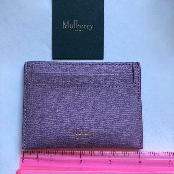 b0be7f6e286b Mulberry Credit Card Slip lilac. M 5bddef525c4452ae7fcdf84b